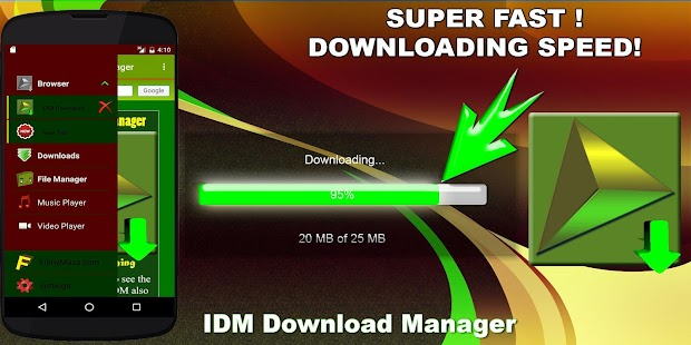 IDM Download Manager ★★★★★ Screenshot