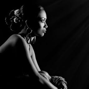 Audrey Ang by Joe Malicdem - People Portraits of Women ( black and white, pwcprofiles, joe malicdem )