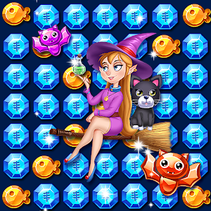 Witch Magical Jewel Star For PC (Windows & MAC)