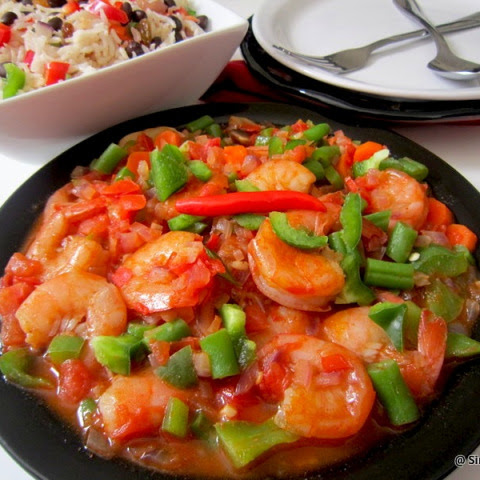 Spicy Shrimp and Vegetables