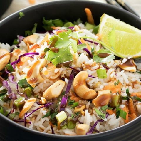 Thai Coconut Cashew Rice