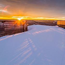 by Lars Landmark - Landscapes Travel ( sunset, hafjell, fotofanatics )