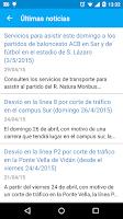 Screenshot of Bus Santiago