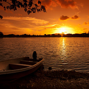 An Evening in Paya Pahlawan by Asrul CikguOwn - Landscapes Sunsets & Sunrises