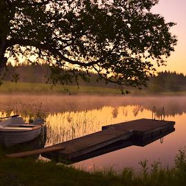 Early morning by Marina Erkenius - Landscapes Sunsets & Sunrises