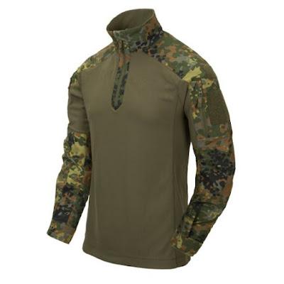 Термо рубаха MCDU  - Helikon-Tex - камуфляж пятнистый