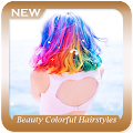 App Beauty Colorful Hairstyles Ideas apk for kindle fire