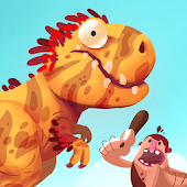 APK Game Dino Bash - Dinos v Cavemen for BB, BlackBerry