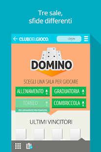 Domino ClubDelGioco- screenshot thumbnail
