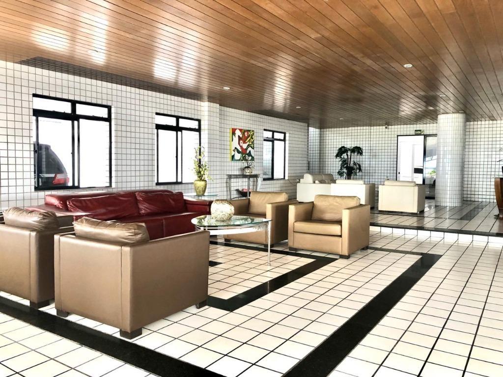 Apartamento com 3 dormitórios à venda, 100 m² por R$ 580.000,00 - Manaíra - João Pessoa/PB