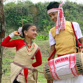 Bonyashree n Bablu by Asif Bora - Babies & Children Children Candids