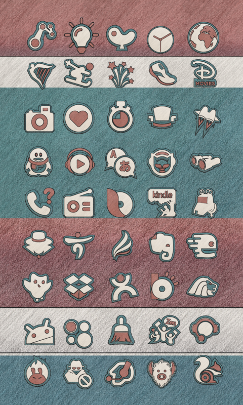 Native Icon Pack Natural Art Screenshot 4