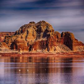 Lake Powell by Richard Michael Lingo - Landscapes Waterscapes ( lake powell, page, waterscape, arizona, landscape )