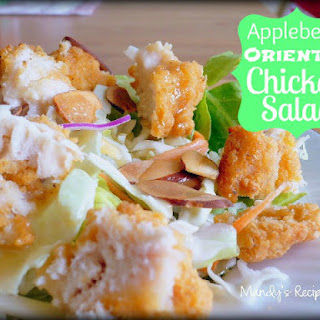 Applebee's Oriental Chicken Salad {Totally Tasty Tuesdays}