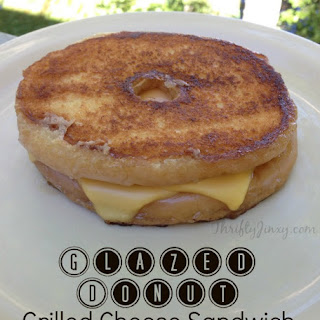 Glazed Donut Grilled Cheese