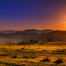 sunrise in Romania by Racz Cristian - Landscapes Sunsets & Sunrises