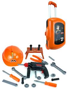 """Игровой набор серии """"Профессии"""", чемодан, оранжевый"""