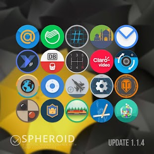 Spheroid Icon v1.2.5 APK