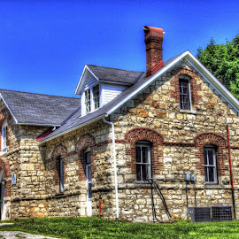 Old Restored Church building by Jackie Eatinger - Buildings & Architecture Public & Historical