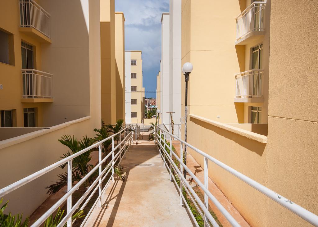 Apartamento residencial para locação, Caji, Lauro de Freitas - AP0014.