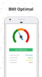 BMI calculator - Find BMI by best bmi checker app Screenshot