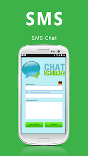 SMS Chat - Germany- screenshot