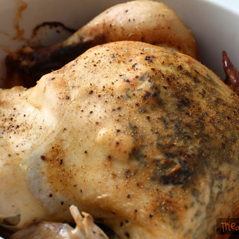 Rotisserie Crock Pot Chicken