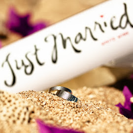 Just Married by Shawn Ray - Wedding Other ( wedding bands, rings, just married )