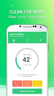 Master Speed - Phone Cleaner & Speed Booster for pc