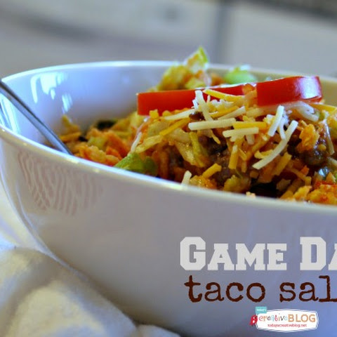 Game Day Taco Salad