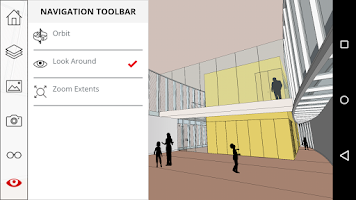 Screenshot of SketchUp Mobile Viewer
