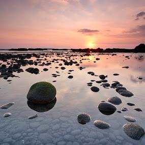 piece of rock by Oka Wimartha - Landscapes Sunsets & Sunrises