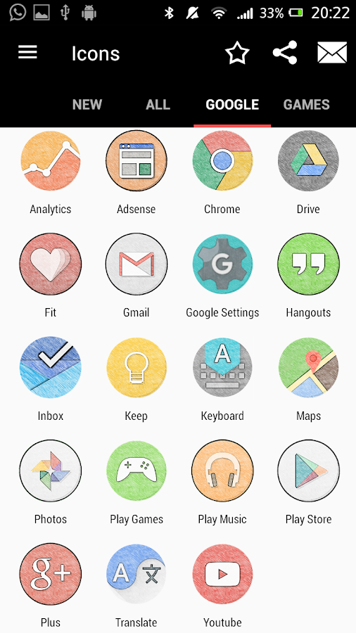 IUX Icon Pack Screenshot 2