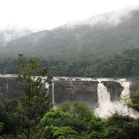 mountains & hill by Parasu Raman - Landscapes Mountains & Hills ( hill, foggy, mountain, rain season, river )