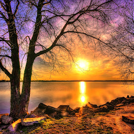Campsite by Derrill Grabenstein - Landscapes Sunsets & Sunrises (  )