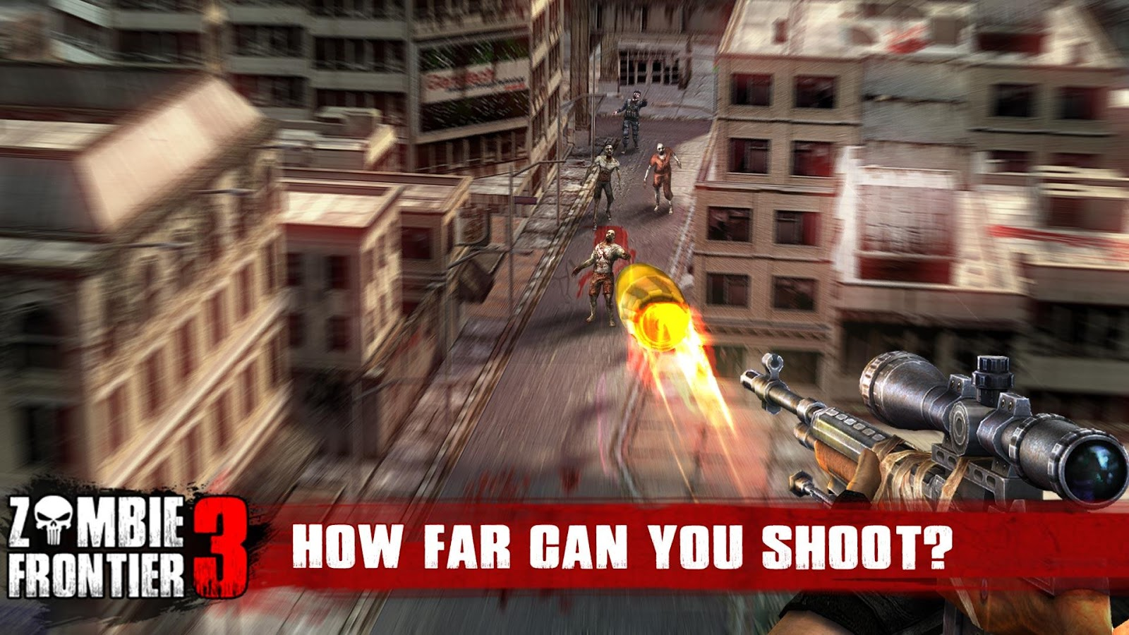 Zombie Frontier 3-Shoot Target Screenshot 0