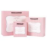 Hand Bag Printing Brown Kraft Paper Shopping Bag With Handles