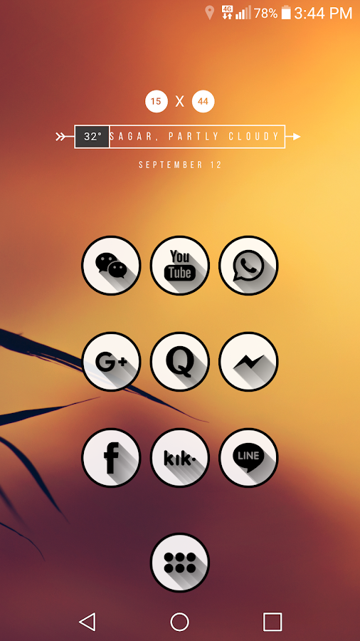 Shady Icon Pack Screenshot 2