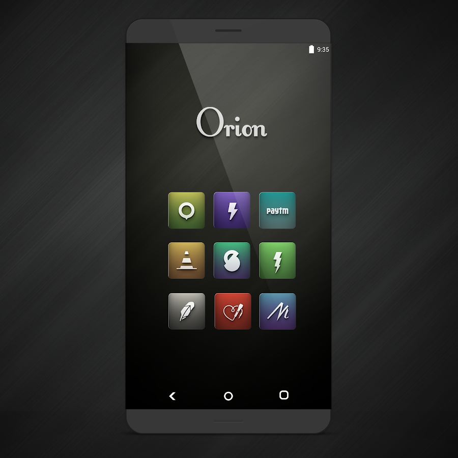 Orion UI Icon Pack Screenshot 0