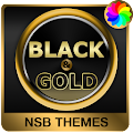 Free Black & Gold Theme for Xperia APK for Windows 8
