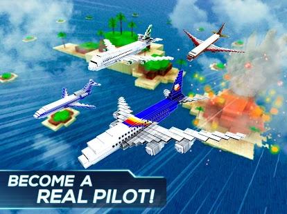 Free Download Mine Passengers: Plane Simulator - Aircraft Game APK for Samsung