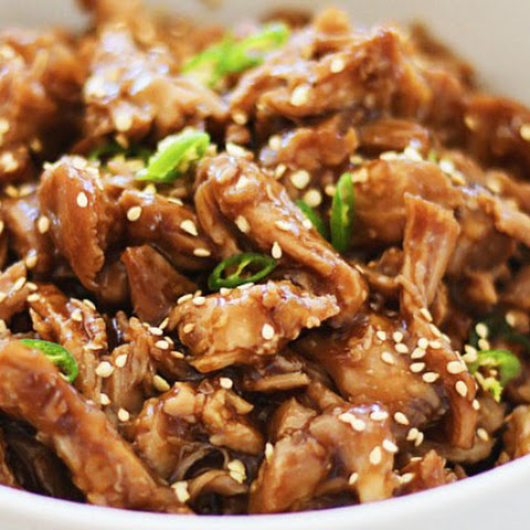 Crock Pot Honey Sesame Pulled Pork