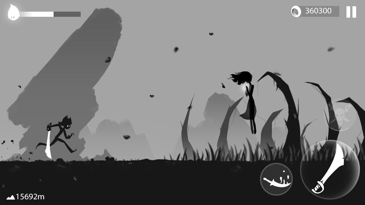 Stickman Run: Shadow Adventure Screenshot 2