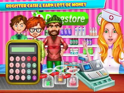 Doctor Store Cash Register - screenshot