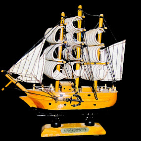 Mayflower by Aamir Soomro - Artistic Objects Other Objects ( ship, white, journey, brown, sail, travel, boat, black )