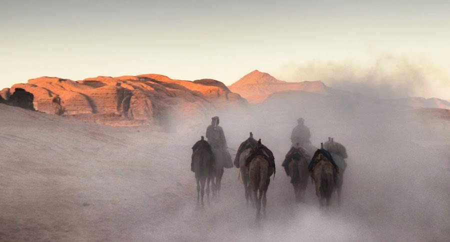 Wadi Rum by Ivana Vasojevic - Landscapes Deserts