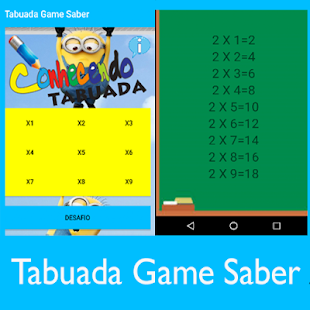 Tabuada Game Saber (Jogo) - screenshot