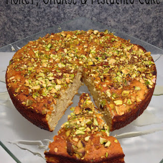 Honey, Orange and Pistachio Cake