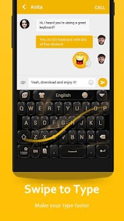 Free Download GO Keyboard - Emoji keyboard, Swipe input, GIFs APK for Samsung