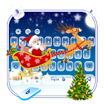 Merry Christmas Keyboard Icon